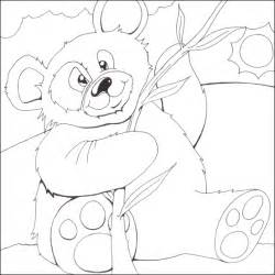 giant panda coloring sheet coloring pages