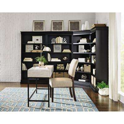 home decorators collection louis philippe polar white open home decorators collection bookcases home office