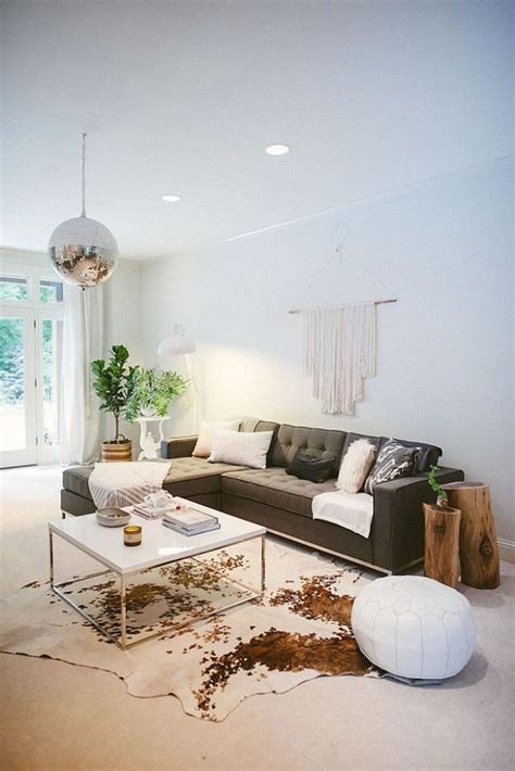 decorating with cowhide rugs