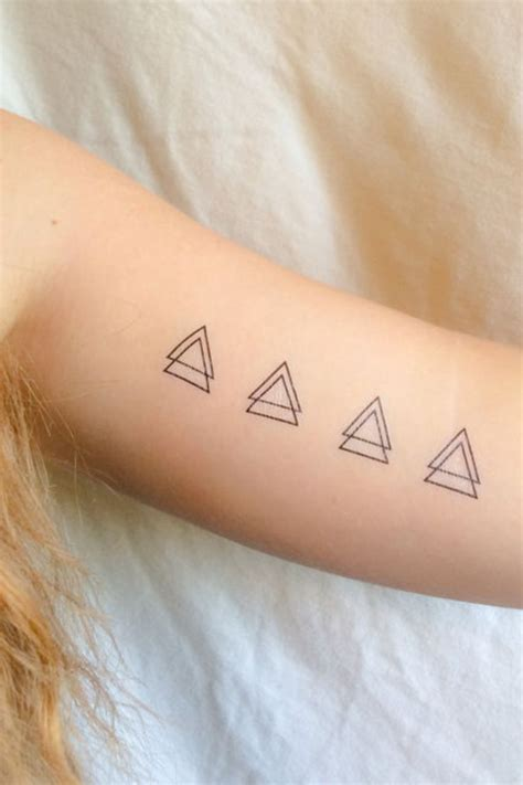 triangle tattoos meaning best 25 triangle meanings ideas on