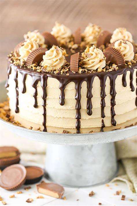 peanut butter chocolate layer cake life love  sugar bloglovin