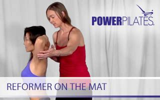 Reformer On The Mat by Leaders In Fitness Continuing Education For Fitness Professionals