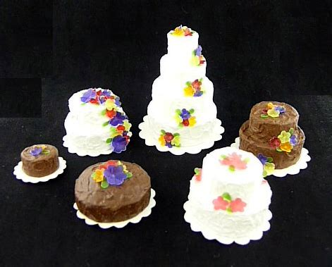 decoupage cake tutorial tutorial miniature cakes decorated with flowers cotton
