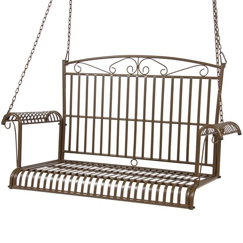 hanging bench porch swings outdoor swings sears