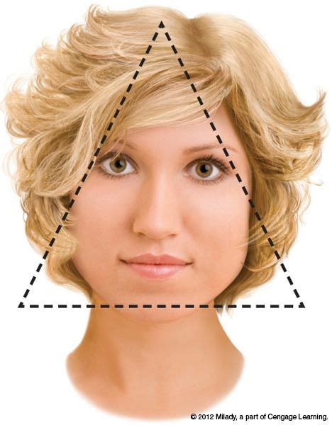 how to style short hair for pear shaped face 12 best images about pear or triangle face shape on