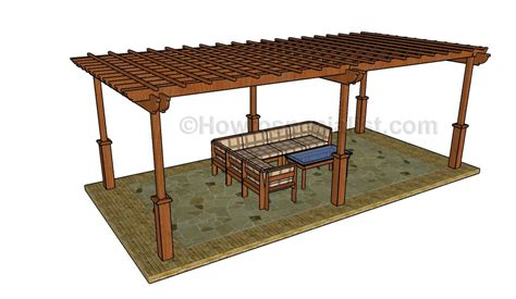 Large Pergola Plans Large Pergola Plans Howtospecialist How To Build Step