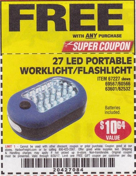 harbor freight light bar harbor freight coupons promo codes 2017 couponshy com