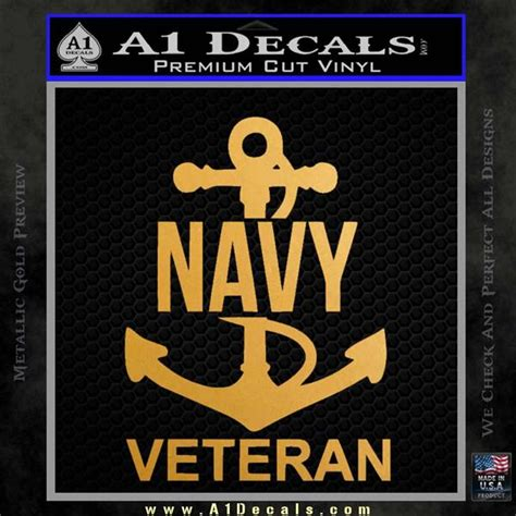 Navy Car Stickers