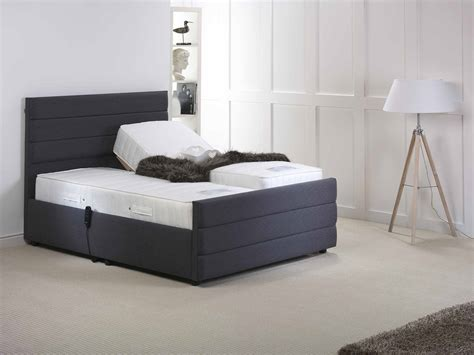 5ft king size electric adjustable upholstered bed frame choice of mattresses ebay