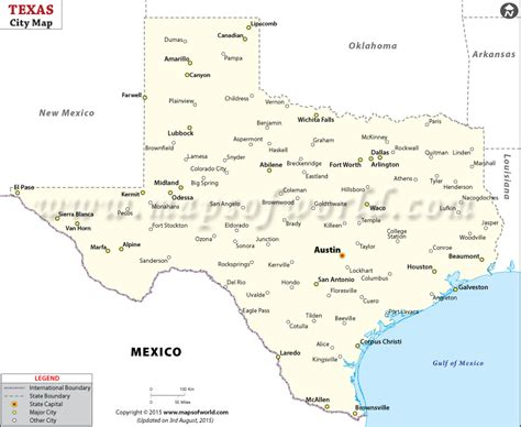 texas map with major cities map of texas cities cities in texas