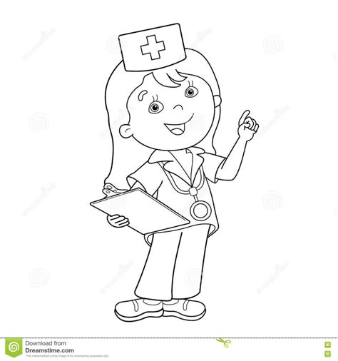 coloring pages girl doctor 28 free printable doctor coloring pages for kids ages