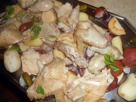 recette de poule au pot aux legumes anciens