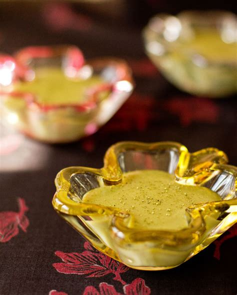 Silky Pudding Green Tea Matcha 320gr white chocolate matcha pudding from mj s kitchen