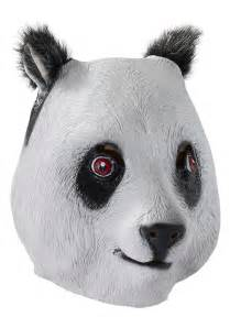 Halloween Costumes Dogs Cats Deluxe Latex Panda Mask