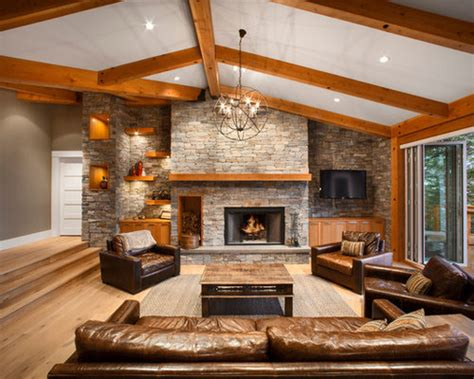 great room fireplace home design ideas pictures remodel