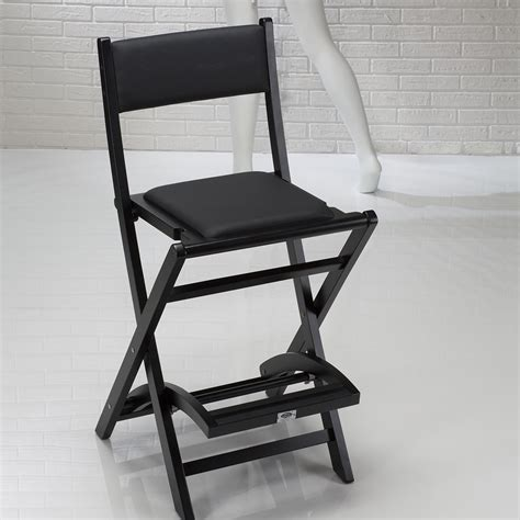 Foldable Makeup Chair by S104 Cantoni Folding Padded Makeup Chair Armless Cantoni