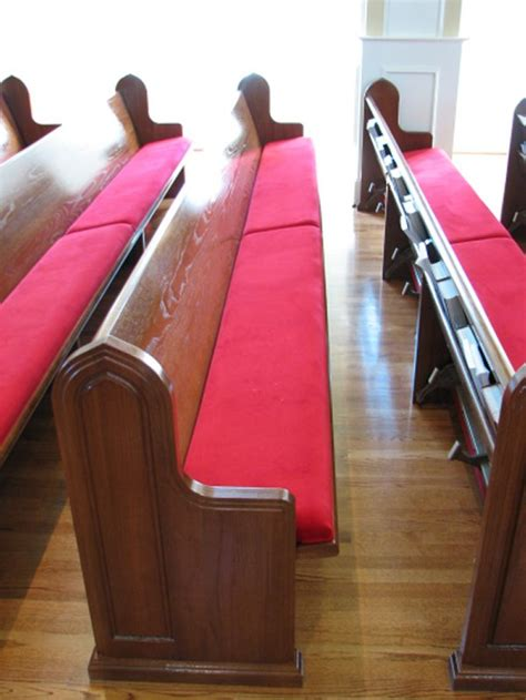 Church Pew Upholstery by Church Pew Cushions Pew Cushions