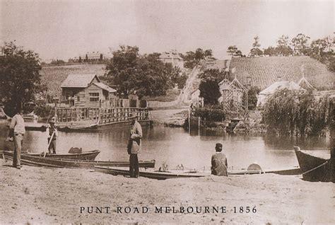 punt  punt road east melbourne historical