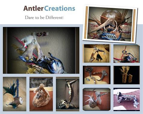 Alive Kunka antler creations to be different photograph by