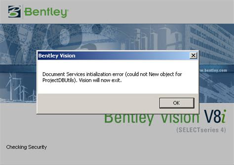 Bentley Autoplant Modeler V8i runtime error after removing newer autoplant version autoplant axsys openplant plantwise