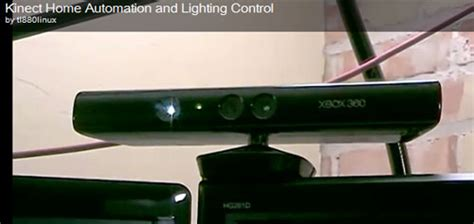 kinect hacked for home automation light controller slashgear