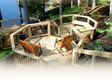 sloped backyard deck ideas 25 best ideas about hillside deck on pinterest sloped yard sloped backyard and