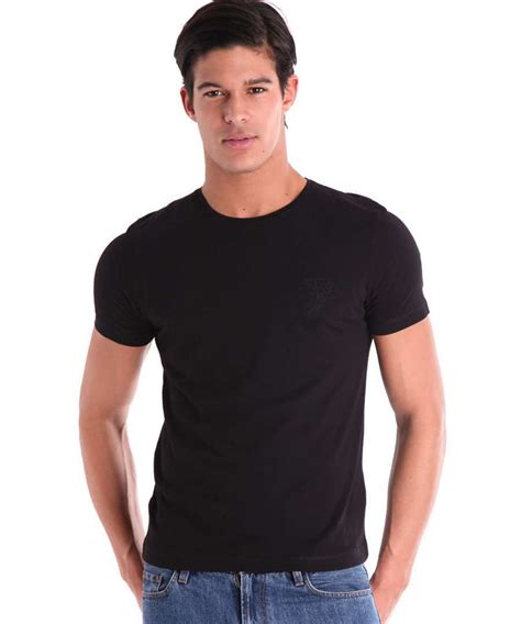 Tees Black Karambol D C black shirt model is shirt