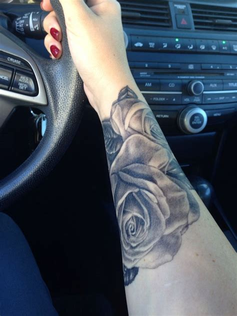 forearm rose tattoo 28 beauitful forearm ideas for and