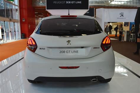peugeot india peugeot 208 gt line rear at 2016 bologna motor show