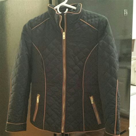 Quilted Jacket H M 56 h m jackets blazers nwot h m navy quilted jacket from b suggested user s