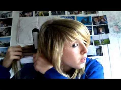 emo haircuts not teased how to style your hair like an quot emo scene quot no teasing