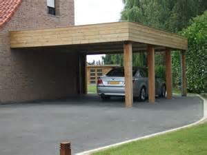 carport bois sur mesure carport bois adoss 233 pas cher vente carports 2 voitures