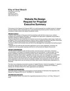 3pl rfp template best photos of executive summary template