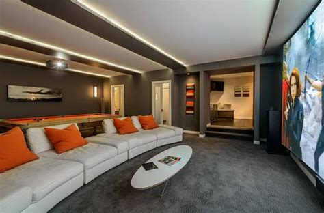 home theatre design orlando game and entertainment rooms featuring witty design ideas