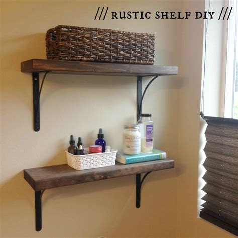 that dominic s rustic shelf diy that gretchen