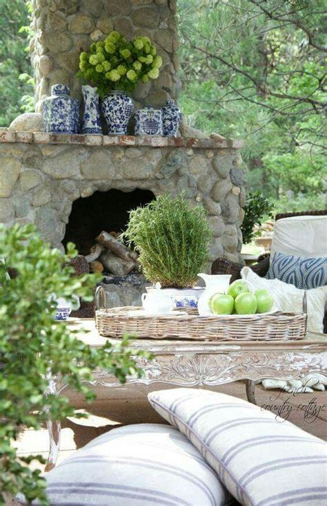 How To Build An Outdoor Fireplace Casual Cottage Outdoor Stone Fireplace French Country Cottage Future