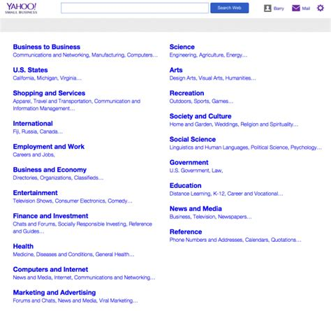yahoo directory goes offline redirects to yahoo small