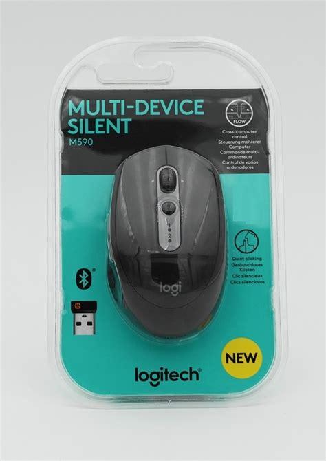 Diskon Logitech M590 Silent Bluetooth Mouse logitech m590 silent multi device bluetooth mouse maus