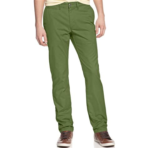 american rag chino in green for vintage army