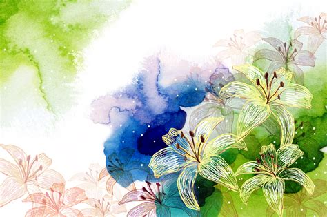 watercolor pattern psd 15 free psd watercolor backgrounds for artistic designs