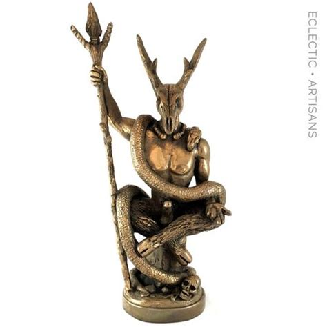 Pagan Home Decor The Witch Lord Statue By Chris Orapello Eartisans Wiccan