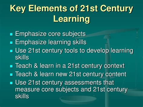 st century skills  todays learners weighing