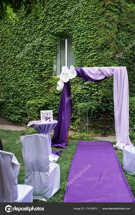 wedding arch material purple wedding arch decorated paper flowers lilac purple
