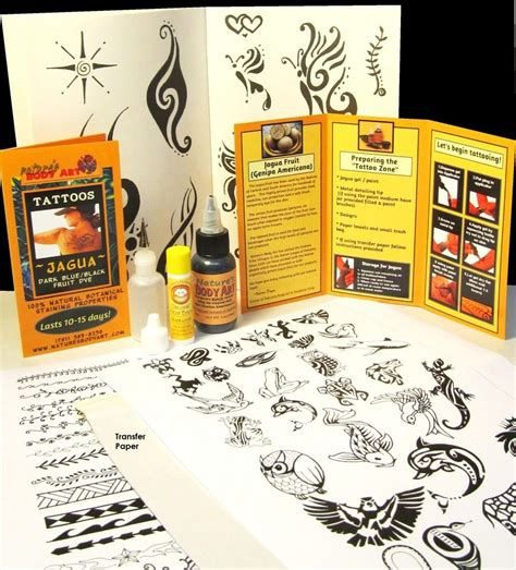 jagua tattoo kit philippines jagua body art 30ml jagua tattoo kit my henna designs