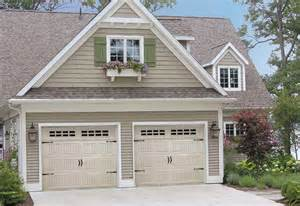 carriage style garage doors and wood home plans ideas picture