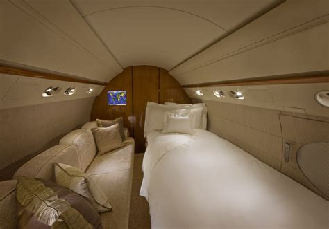 jet bed gulfstream g550 jet charter aircraft 2 avjet corporation