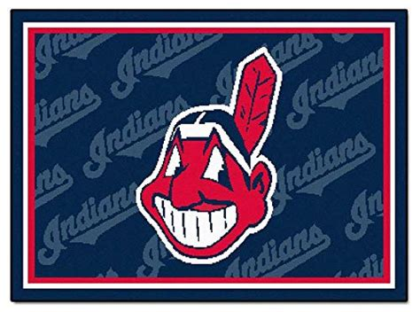 mlb cleveland indians mat small 20 x 30 in indians carpet cleveland indians carpet indians carpets