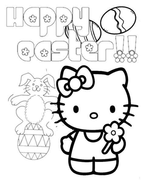 hello coloring pages for easter hello bunny on egg easter coloring page h m