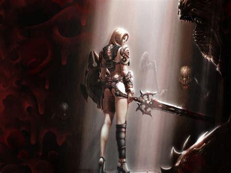 wallpaper girl warrior fantasy images warrior girl hd wallpaper and background