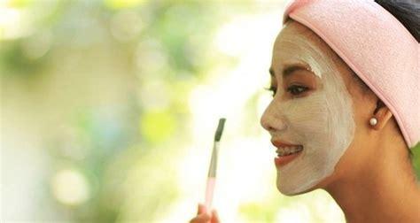 rekomendasi masker alami  baik  wajah